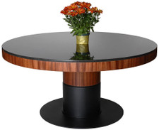 Sapele-Edged Table
