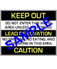 English Version of Keep Out, Lead Renovation,  Caution - RRP Sign In 10 Languages - Downloadable Product. Never Order Signs Again - Order, Download, Save, and Print as Needed.
