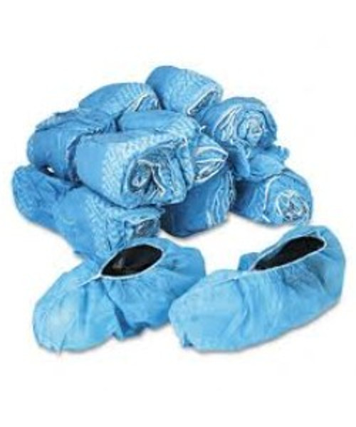 XL Shoe Covers, Polypropylene non slip, One Roll - 150 pairs - 30 rolls