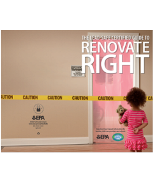 Renovate Right Brochure FREE From LeadPaintEPAsupplies.com, In Spanish, Color, Landscape Printing Preference, No Charge, Place in cart and checkout - no payment required, no credit cards needed!!