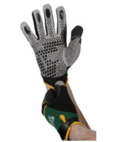Mechanics Gloves - Spandex type with silicone dots for extra grip