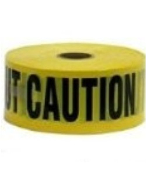 Caution Tape - Used to visibly mark areas of danger