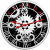 MAPLE LEAF CLOCK - 2017 Canadian Silver Maple Leaf 1 oz Pure Silver Coin - Color