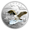 3D APPROACHING CANADA GOOSE 1 oz. Pure Silver Proof 2017