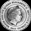 LIEUTENANT COMMANDER WORF - STAR TREK: THE NEXT GENERATION - 2017 2 oz Pure Silver Antiqued Coin
