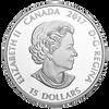 Glow-In-The-Dark Eyes $15 Silver Coin 2017 Canada w-In-The-Dark Eyes $15 Silver Coin 2017 Canada