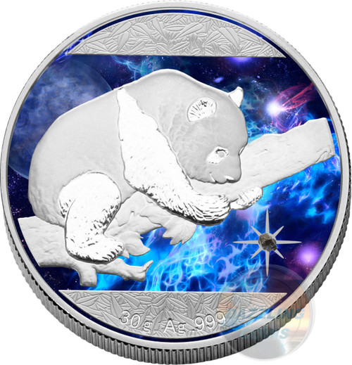 China Silver Cosmic Investment Panda 2016 Silver Coin 10 Y