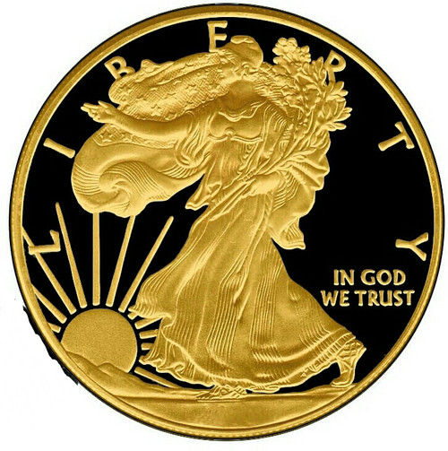 Walking Liberty Gold Black Empire silver eagle 1 oz USA 2017