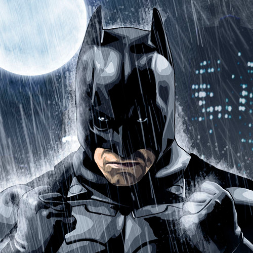 Batman -Rainy Knight