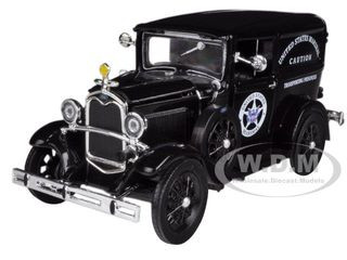 1931 Ford Model A US Marshall's Van 1/32 Diecast Model Car New Ray 55123