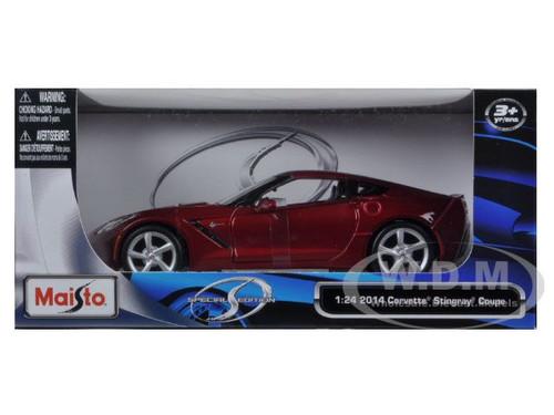 2014 chevrolet corvette c7 metallic red 118 diecast car 2017 2018 car release date