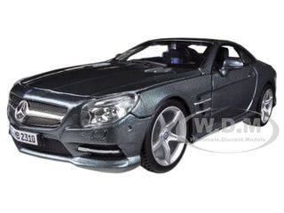 Mercedes SL 500 Coupe Grey 1/24 Diecast Car Model Bburago 21067