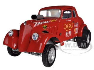 1933 Willys Gasser S & S Racing Team K S Pittman Only 1250 Produced 1/18 Diecast Model Car Acme A1800901