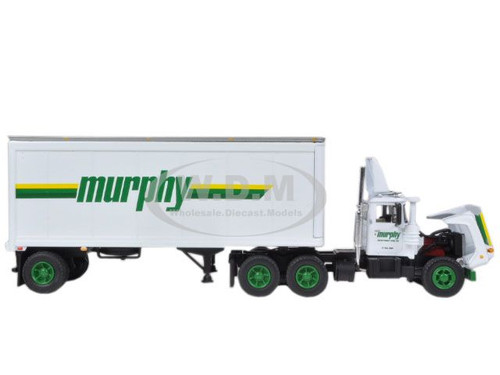 Mack R Model With 28 39 Pup Trailer Murphy Motor Freight 1