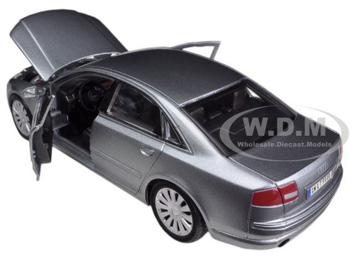 Delightful DESCRIPTIONS: Brand New 1:26 Scale Diecast Model Car Of Audi A8 ... Great Pictures