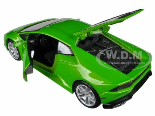 lamborghini huracan lp610 4 green 1 24 diecast model car maisto 31509. Black Bedroom Furniture Sets. Home Design Ideas