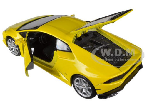 lamborghini huracan lp610 4 yellow 1 24 diecast model car maisto 31509. Black Bedroom Furniture Sets. Home Design Ideas