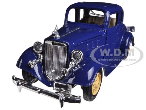 1933 chevrolet 2 passenger 5 window coupe blue 1 32. Black Bedroom Furniture Sets. Home Design Ideas