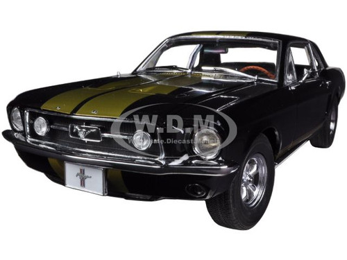 descriptions brand new 118 scale diecast car model of 1967 ford mustang coupe black