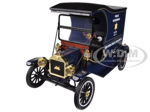 1915 Ford Model T Cargo Van Nypd 1 18 Diecast Model Car