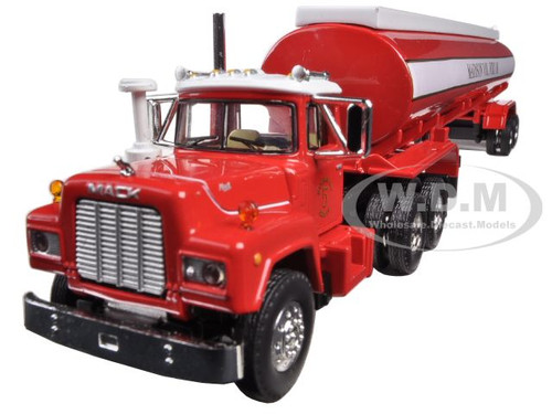 Mack R-Model With 42' Water Tank Trailer Madison Fire Co