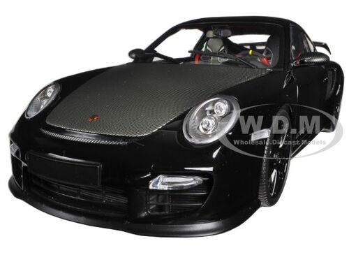 2011 porsche 911 997 ii gt2 rs black w black wheels 1 18 minichamps 100069404. Black Bedroom Furniture Sets. Home Design Ideas