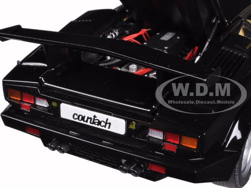 lamborghini countach 25th anniversary edition black 1 18. Black Bedroom Furniture Sets. Home Design Ideas