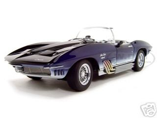 1961 Chevrolet Corvette Mako Shark 1/18 Diecast Model Car Autoart 71131
