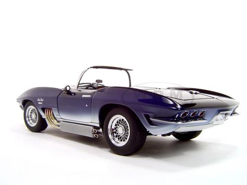 1961 corvette mako shark 1 18 diecast model car by autoart 71131 ebay. Black Bedroom Furniture Sets. Home Design Ideas