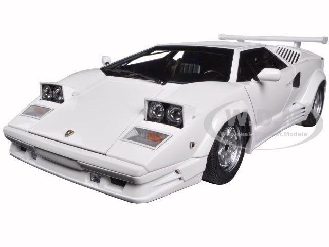lamborghini countach 25th anniversary edition white 1 18 diecast model car au. Black Bedroom Furniture Sets. Home Design Ideas