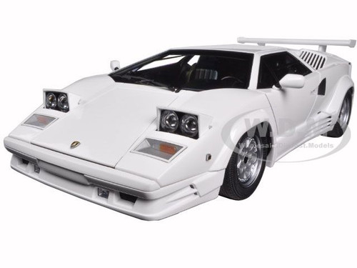 lamborghini countach 25th anniversary edition white 1 18 model by autoart 74537 ebay. Black Bedroom Furniture Sets. Home Design Ideas