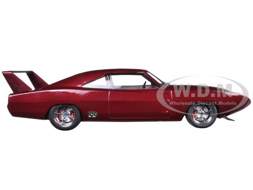 descriptions brand new 118 scale diecast car model of 1969 doms dodge charger daytona custom from fast furious 6 - Dodge Charger 1969 Fast And Furious 6