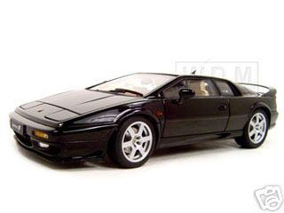 lotus esprit v8 black 1 18 diecast model car autoart 75312. Black Bedroom Furniture Sets. Home Design Ideas