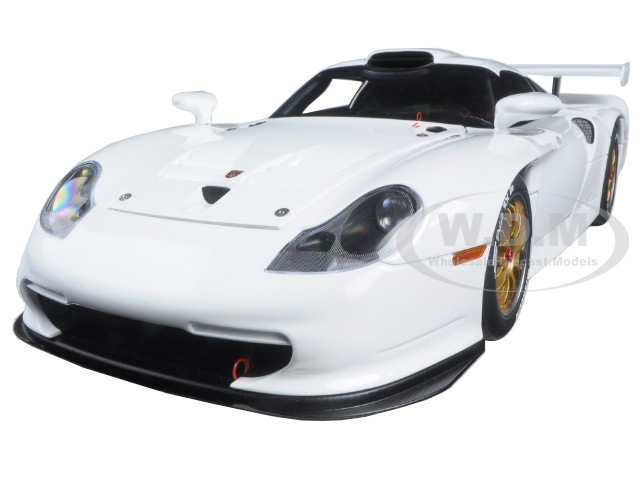 1997 porsche 911 gt1 plain body version white 1 18 diecast model car autoart 89771. Black Bedroom Furniture Sets. Home Design Ideas