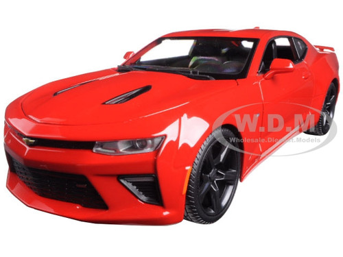 2016 Chevrolet Camaro SS Red 1/18 Diecast Model Car Maisto ...