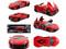 """Lykan Hypersport Red """"Fast & Furious 7"""" Movie 1/18 Diecast Model Car Jada 97388"""