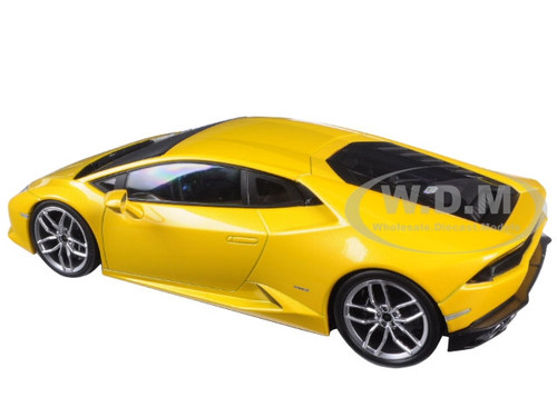 lamborghini huracan lp610 4 yellow 1 18 diecast model car by kyosho 09511 yo ebay. Black Bedroom Furniture Sets. Home Design Ideas