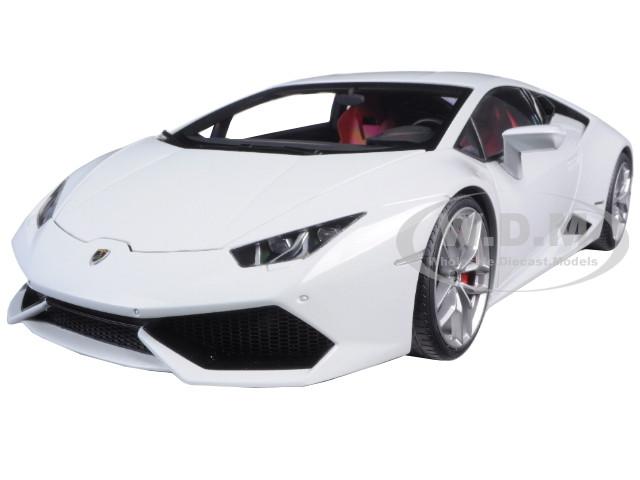 lamborghini huracan lp610 4 bianco icarus metallic white 1 18 model car autoa. Black Bedroom Furniture Sets. Home Design Ideas