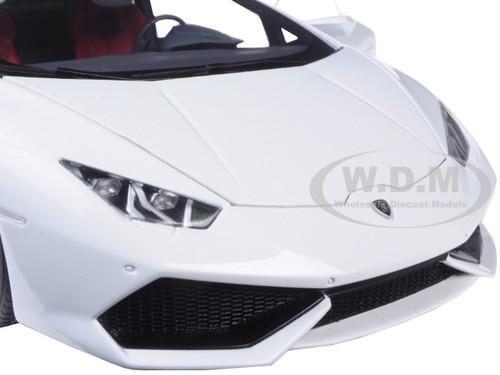 lamborghini huracan lp610 4 bianco icarus metallic white 1 18 model car autoart 74602. Black Bedroom Furniture Sets. Home Design Ideas