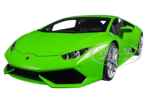 lamborghini huracan lp610 4 verde mantis 4 layer green metallic 1 18 model car autoart 74605. Black Bedroom Furniture Sets. Home Design Ideas