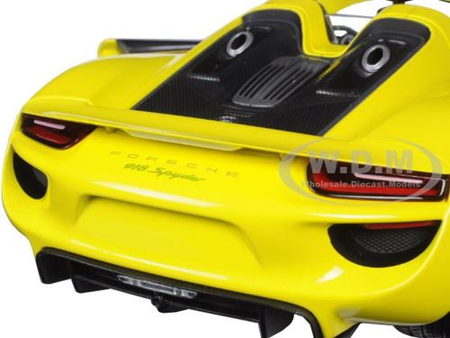 2013 porsche 918 spyder yellow limited edition to 504pcs 1 18 diecast model c. Black Bedroom Furniture Sets. Home Design Ideas