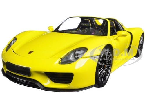 2013 porsche 918 spyder yellow limited edition to 504pcs 1 18 diecast model car minichamps 110062434. Black Bedroom Furniture Sets. Home Design Ideas
