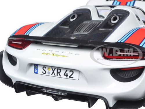 2013 porsche 918 spyder martini 1 with weissach package limited edition to 1500pcs 1 18 diecast. Black Bedroom Furniture Sets. Home Design Ideas