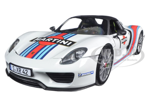 2013 porsche 918 spyder martini 1 with weissach package limited edition to 1. Black Bedroom Furniture Sets. Home Design Ideas