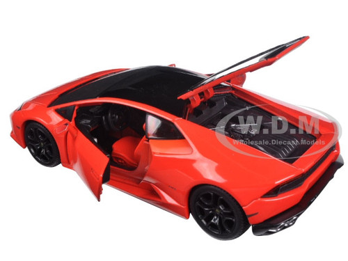 lamborghini huracan lp 610 4 red exotics 1 24 diecast model car maisto 32503. Black Bedroom Furniture Sets. Home Design Ideas