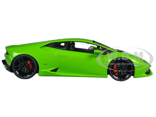 lamborghini huracan lp610 4 green 1 18 diecast model car kyosho 09511. Black Bedroom Furniture Sets. Home Design Ideas