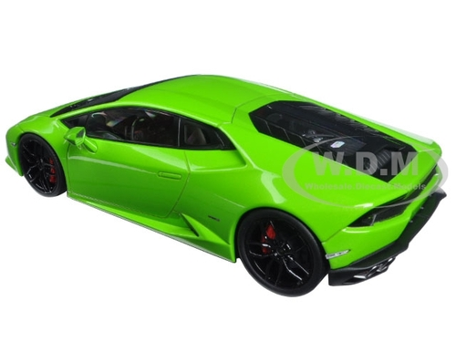lamborghini huracan lp610 4 green 1 18 diecast model car kyosho 09511. Black Bedroom Furniture Sets. Home Design Ideas