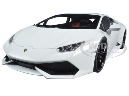 lamborghini huracan lp610 4 white 1 18 diecast model car by kyosho 09511 w ebay. Black Bedroom Furniture Sets. Home Design Ideas