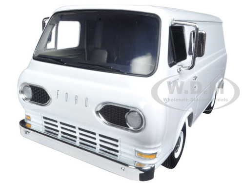 1963 1960's Ford Econoline Working Van White with Boxes 1/25 Diecast Model First Gear 40-0387