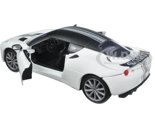 lotus evora s matt white 1 24 diecast model car motormax 79505. Black Bedroom Furniture Sets. Home Design Ideas